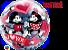 Balão Bubble Disney Mickey e Minnie Eu Te Amo - Imagem 2