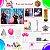 Kit Festa na Caixa HOME - Frozen 2 Turma - Imagem 2
