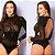 Body de Luxo Sensual Prazeres - Preto - Imagem 1