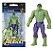 Novo Mini Figura de Açao Marvel Vingadores Hulk Hasbro E4353 - Imagem 1