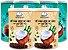 4 Unidades de Leite de Coco em pó e 2 unidades de Café com leite de coco em pó - Imagem 1