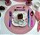 Jogo 6 Pratos Sobremesa Porcelana Borboletas 21,5cm 1168 Wolff - Imagem 2