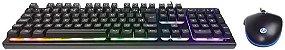 Kit teclado e mouse Gamer Preto Km300f HP - 8aa01aa - Imagem 4