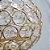 Candelabro Dourado com Cristais - Imagem 2