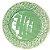 Conjunto 6 Pratos Rasos Rosier Verde - Imagem 1
