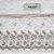 Toalha de Banho Karsten Fio Penteado Fresia Branco/Bege - Imagem 4