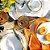 Conjunto 6 Pratos Sobremesa Bambu Scalla Cerâmica - Imagem 3