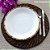 Conjunto 6 Pratos Sobremesa Bambu Scalla Cerâmica - Imagem 2