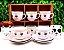 Jogo De Xícaras De Café Porcelana Olhinhos 90 Ml 12 Peças - Imagem 2