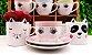 Jogo De Xícaras De Café Porcelana Olhinhos 90 Ml 12 Peças - Imagem 3