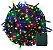 Pisca Pisca Colorido Cordão 100 Lâmpadas 127v Led 8 Funções 10m - Imagem 1