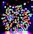 Pisca Pisca Colorido Cordão 100 Lâmpadas 127v Led 8 Funções 10m - Imagem 2