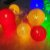 Cordão Luminária Luz Led 15 Bolas 6 Cm Colorido 2,8m Bivolt - Imagem 2