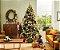 Árvore Pinheiro de Natal 2,40m Modelo Luxo 704 Galhos Nevada A0324N - Imagem 2