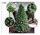 Árvore Pinheiro de Natal 2,40m Modelo Luxo 704 Galhos Nevada A0324N - Imagem 1