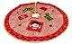 Saia Base Tapete De Árvore De Natal Tecido Enfeite 60cm - Imagem 1