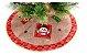 Saia Base Tapete De Árvore De Natal Tecido Enfeite 60cm - Imagem 2