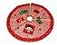 Saia Base Tapete De Árvore De Natal Tecido Enfeite 60cm - Imagem 3