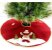 Saia De Juta Tapete Árvore De Natal Boneco De Neve 60 Cm - Imagem 3