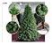 Árvore Pinheiro Natal Luxo Verde Nevada 2,70m 1039 Galhos - Imagem 1
