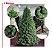 Árvore Pinheiro Natal Luxo Verde Nevada 3 Metros 1371 Galhos A0330N - Imagem 1