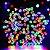 Pisca Pisca Cordão 200 Lâmpadas Colorida 127v Led 8 Funções 15m - Imagem 3