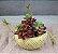 Planta Artificial Suculenta Mini Lótus 13 Cm Decoração  - Imagem 3