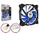 COOLER GAB 120MM DEX-12F LED AZUL AZUL DEX BOX - Imagem 1