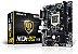 PLACA MAE 1151 MICRO ATX H110M-DVS R2.0 DDR4 ASROCK BOX IMPORTADO - Imagem 1