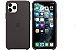 Capa Case Apple Silicone para iPhone 11 Pro Max - Preta - Imagem 1