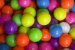 Bolas brasileiras para malabarismo em várias cores! (unidade) - Imagem 1