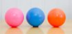 Bola de vinil vazia 100mm para malabarismo de contato! - Imagem 1