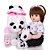 Bebe Reborn Menina, Panda   Pronta Entrega - Imagem 3