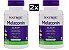 Kit 2 x Melatonina 10 mg Fast Dissolve sublingual sabor CITRUS - Natrol - Total 200 comprimidos - Imagem 1
