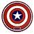 Proteção para Base / Tapete Union Bowl - Capitao America - Imagem 1