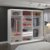 Guarda-Roupa Casal 3 Portas com 3 Espelhos 100% MDF Branco Foscarini - Imagem 2