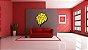Quadro Decorativo Leão Geométrico Color  - Imagem 2
