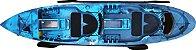 Caiaque duplo new foca azul camuflado - Imagem 1