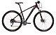 Bicicleta Aro 29 OGGI Big Wheel 7.1 2019 27V Preto/Vermelho - Imagem 1