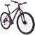Bicicleta Aro 29 TSW Posh 2019 21V Preto/Rosa Feminina - Imagem 2