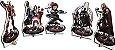 Display de mesa Vingadores - 8 unidades - Imagem 2