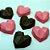 forma de trufa Coração Lapidado Cod 9836 - Imagem 2