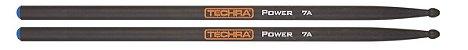 Baqueta Techra 7A Power Fibra de Carbono - Imagem 1