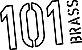 """PRATO PAISTE 101 Brass Crash 16""""  - Imagem 2"""