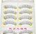 Cílios Postiços Caixa com 10 Pares - Modelo Y59 - Imagem 2