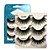 Cílios Postiços 6D Caixa com 03 Pares - Miss Frandy  - Imagem 1