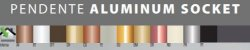 Pendente Socket Alumínio 16x150cm 8xE27 Cor Cobre Itamonte Nac 136/8 COB - Imagem 3