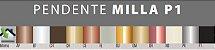 Pendente Milla P2 Alumínio e Vidro Fosco Leitoso 46x22xø15cm 2xG9 LED Cápsula Itamonte Nac 474/2 - Imagem 3