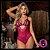 """Lingerie Body """"Pink Passion"""" (em laise e renda sofisticada) - Imagem 2"""
