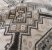 Jogo lençol  nude geométrico - Imagem 3
